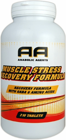 Image for Anabolic Agents - Muscle Stress Recovery Formula