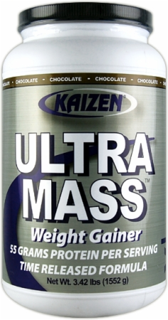 Kaizen Ultra Mass Weight Gainer - 3.42 Lbs. - Vanilla