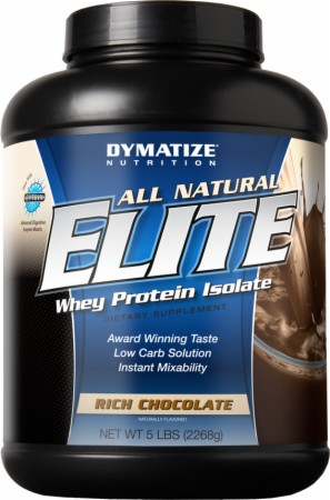 Image for Dymatize - All Natural Elite Whey Protein Isolate