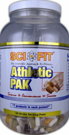 Image for SciFit - Athletic Pak