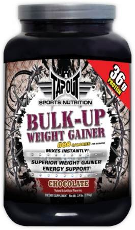TapouT Sports Nutrition Bulk-Up Weight Gainer - 3.4 Lbs. - Chocolate