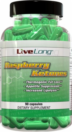 Image for LiveLong Nutrition - Raspberry Ketones