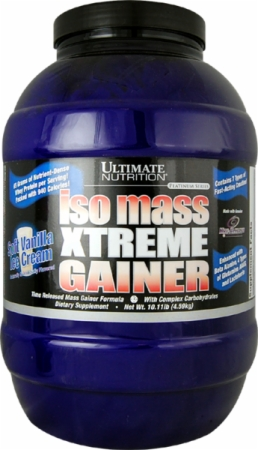 Ultimate Nutrition Iso Mass Xtreme Gainer   10.11 Lbs.