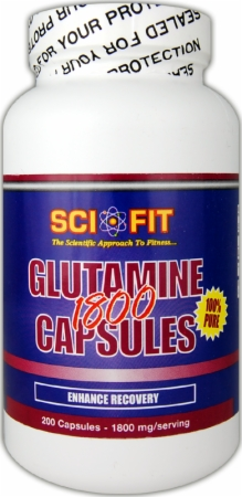 Image for SciFit - Glutamine 1800 Capsules