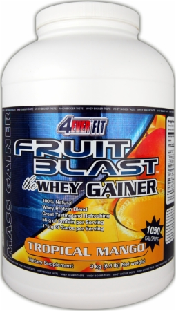 Image for 4Ever Fit - Fruit Blast - The Whey Gainer
