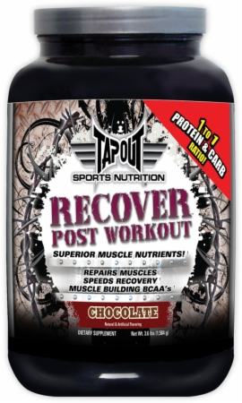 Image for TapouT Sports Nutrition - Recover Post Workout
