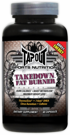TapouT Sports Nutrition Take Down Fat Burner - 60 Capsules