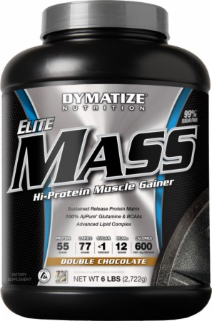 Dymatize Elite Mass Gainer - 10 Lbs. - Banana Cream