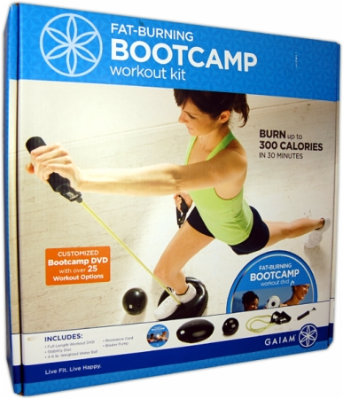 Gaiam Fat-Burning Boot Camp