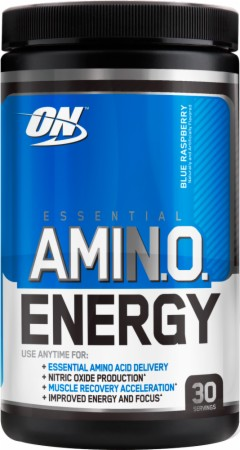 Optimum Essential AmiN.O. Energy - 65 Servings - Concord Grape