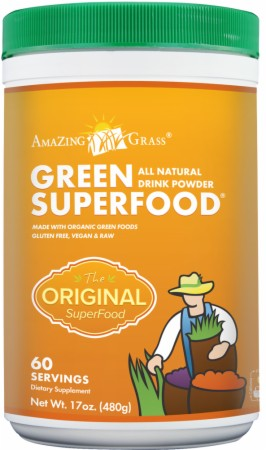 Amazing Grass Green SuperFood Powder - 60 Servings - Original
