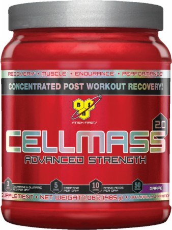 BSN CellMass 2.0 - 50 Servings - Blue Raz