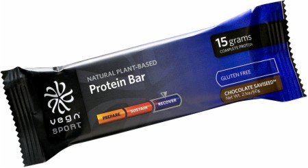 Vega Sport Protein Bars - 12 Bars - Chocolate SaviSeed