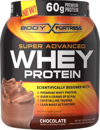 Body Fortress Super Advanced Whey Protein - 2 Lbs. - Chocolate