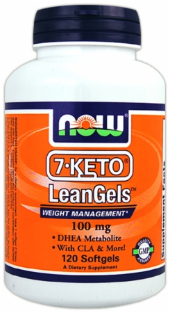 NOW 7-Keto LeanGels - 60 Softgels