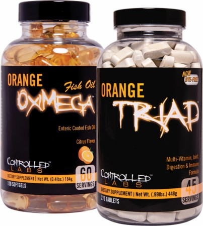 Image for Controlled Labs - Orange Triad / Orange OxiMega Fish Oil