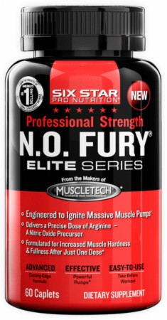 Image for Six Star Pro Nutrition - Professional Strength N.O. Fury Caplets