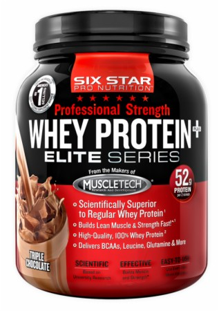 Image for Six Star Pro Nutrition - Professional Strength Whey Protein Plus