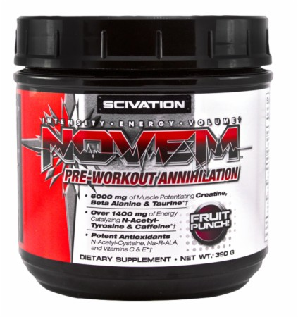 SciVation Novem - 40 Servings - Mixed Berry