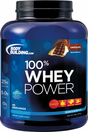 Image for Bodybuilding.com Supplements - 100% Whey Power