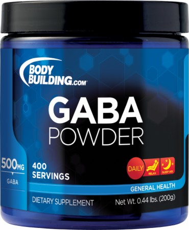 Image for Bodybuilding.com Supplements - GABA Powder