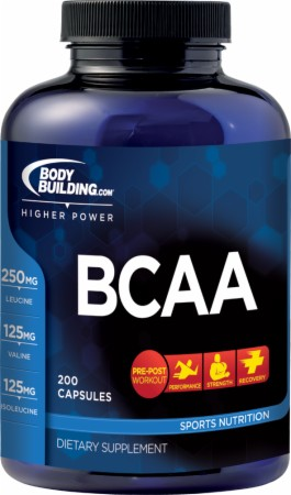 Image for Bodybuilding.com Supplements - BCAA