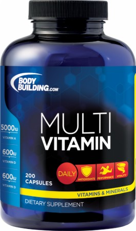 Image for Bodybuilding.com Supplements - Multivitamin