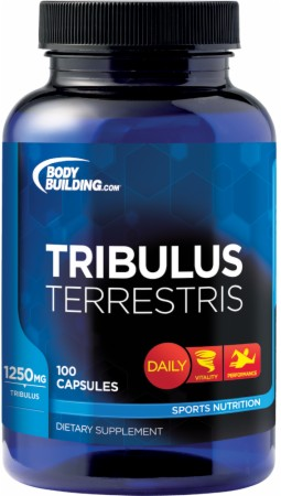 Bodybuilding.com Foundation Series Tribulus Terrestris - 100 Capsules
