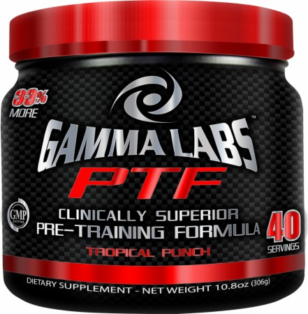 Gamma Labs Pre-Training Formula - 15 Servings - Tropical Punch