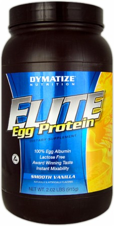 Dymatize Elite Egg Protein - 2 Lbs. - Smooth Vanilla