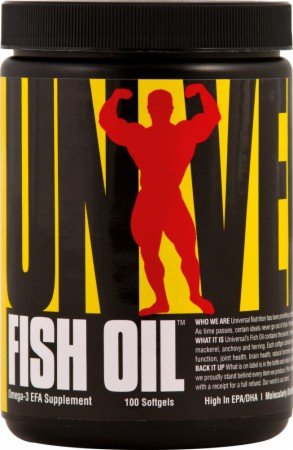 Image for Universal Nutrition - Fish Oil