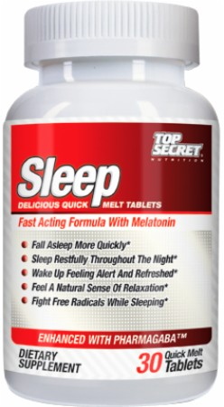 Image for Top Secret Nutrition - Sleep