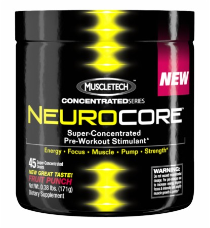 MuscleTech NeuroCore - 45 Servings - Grape