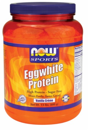 Image for NOW - Eggwhite Protein