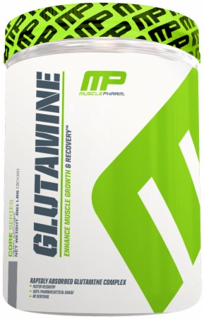 MusclePharm Glutamine - 300 Grams - Unflavored