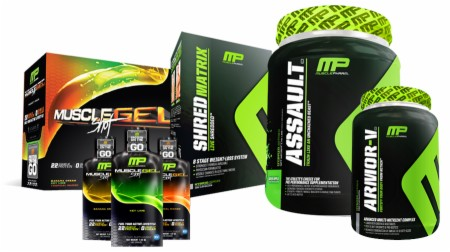 MusclePharm Live Shredded Stack