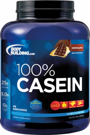 Bodybuilding.com Foundation Series 100% Casein - 4 Lbs. - Chocolate
