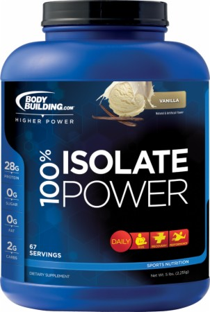 Image for Bodybuilding.com Supplements - 100% Isolate Power