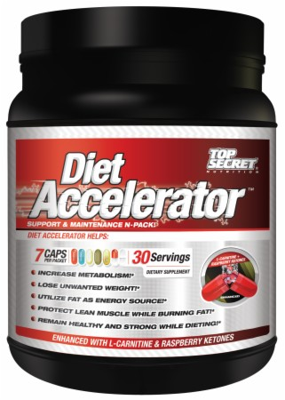 Image for Top Secret Nutrition - Diet Accelerator