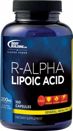 Image for Bodybuilding.com Supplements - R-Alpha Lipoic Acid
