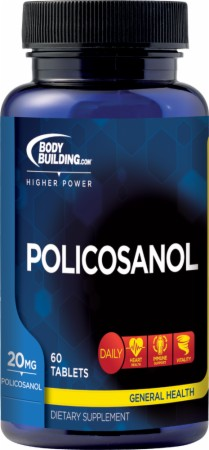 Bodybuilding.com Foundation Series Policosanol - 60 Tablets