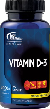 Image for Bodybuilding.com Supplements - Vitamin D-3