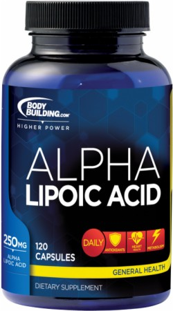 Image for Bodybuilding.com Supplements - Alpha Lipoic Acid