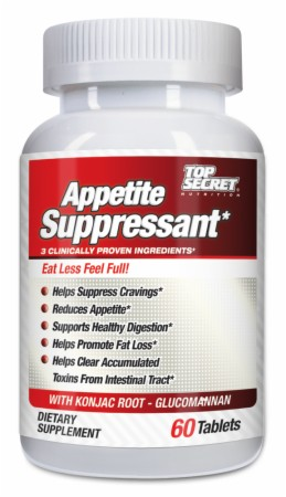 Image for Top Secret Nutrition - Appetite Suppressant