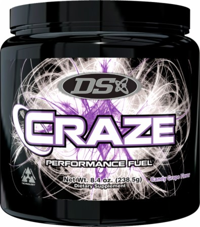 Driven Sports CRAZE - 45 Servings - Candy Grape