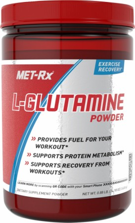 Image for Met-Rx - L-Glutamine Powder