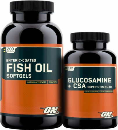 Image for Optimum Nutrition - Fish Oil Glucosamine Combo Pack