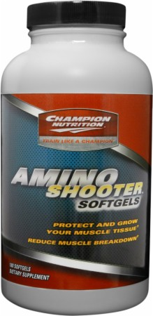 Image for Champion - Amino Shooter Softgels