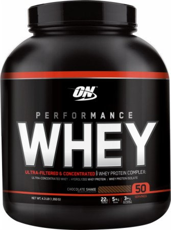 Optimum Performance Whey - 4 Lbs. - Chocolate Shake
