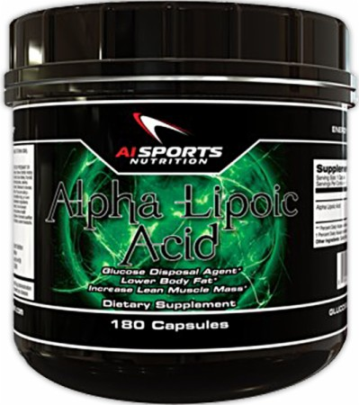 Image for AI Sports Nutrition - Alpha Lipoic Acid